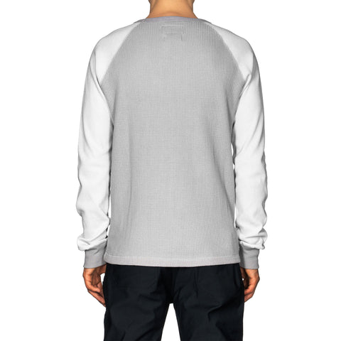 HAVEN Raglan Thermal - Cotton Waffle Gray, Shirts