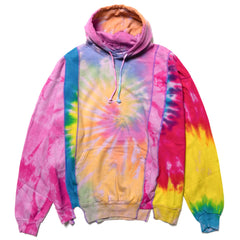 Needles Rebuild by Needles 5 Cuts Hoody - Tie Dye Assorted, Sweaters