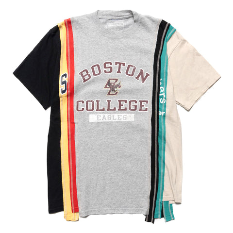 Needles Rebuild by Needles 7 Cuts S/S Tee - College Assorted, T-Shirts
