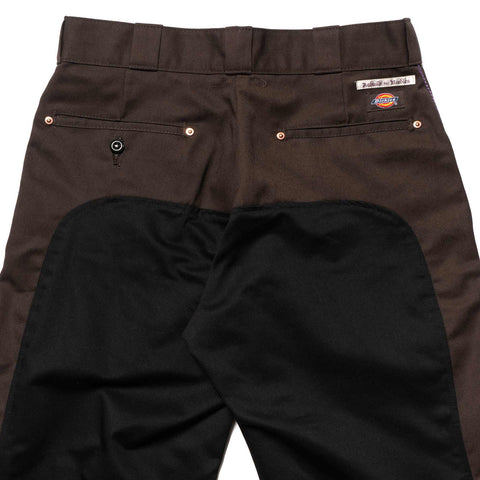 Needles Rebuild by Needles Dickies 874 - Monkey Cut Pant Brown