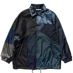 Needles Rebuild by Needles Nylon Coach Jacket Black, Jackets