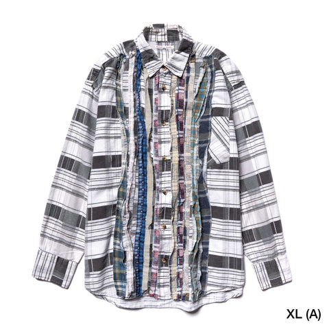 Needles Rebuild by Needles Ribbon Flannel Shirt, Shirts