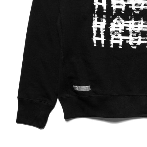 HAVEN / mo'design NOISE Pullover Hoodie - Mid Weight Cotton Terry Black, Sweaters