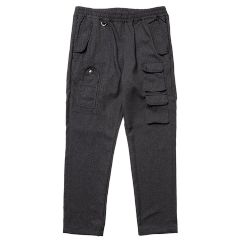 SOPHNET. Multi Cargo Ventilation Easy Pant Charcoal Gray, Bottoms