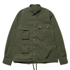 SOPHNET. Multi Pocket Shirt Khaki, Tops