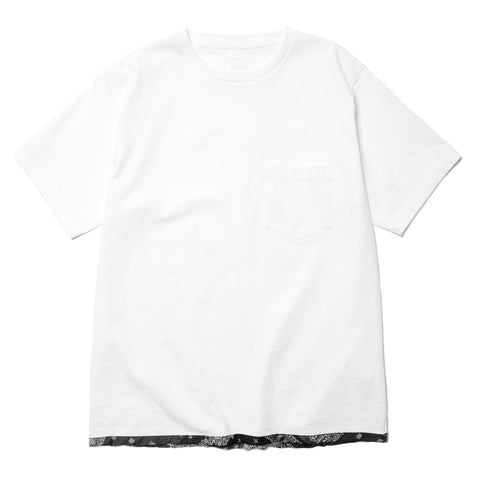 SOPHNET. Piping Tee White, T-Shirts