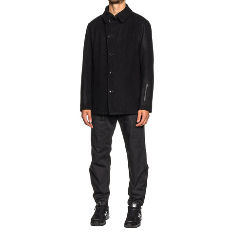 SOPHNET. Wool Short Blouson Black, Outerwear