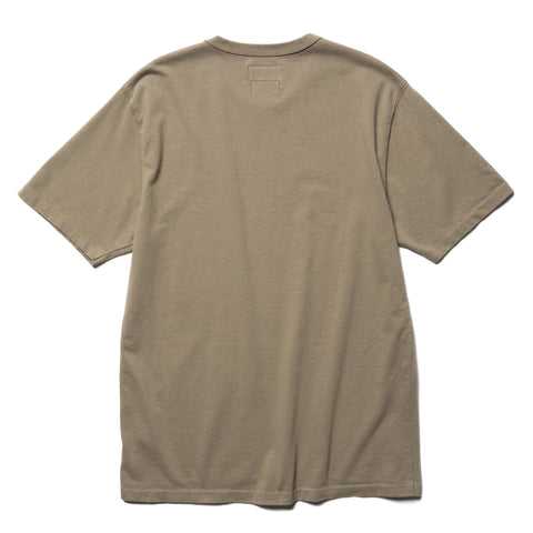 HAVEN Garment Dyed S/S - Cotton Jersey Bark, T-Shirts