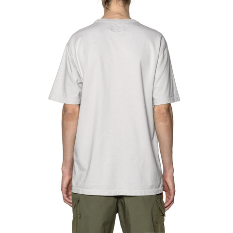 HAVEN Garment Dyed S/S - Cotton Jersey Pewter, T-Shirts