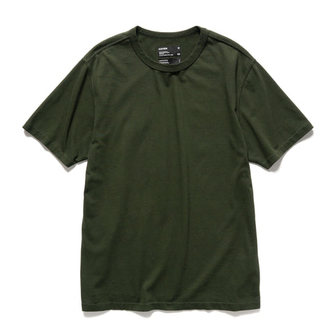 HAVEN S/S T-Shirt - Garment Dyed Jersey Spruce, T-Shirts
