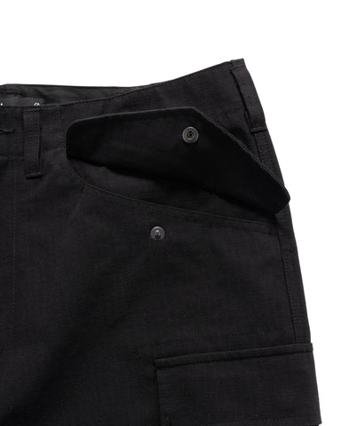 HAVEN Brigade Mod Pants - CORDURA® Cotton Nylon Ripstop Black, Bottoms