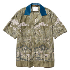 Sacai Sun Surf / Diamond Head Shirt Khaki, Shirts