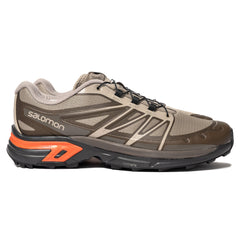 Salomon Advanced XT-Wings 2 Advanced Vintage Khaki / Ebony / Red Orange, Footwear
