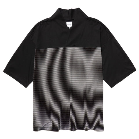 Sasquatchfabrix. Border Wa-Neck H/S Tee Black, T-Shirts