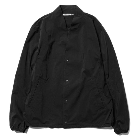 Sasquatchfabrix. Nylon Wa-Neck Jacket Black, Jackets