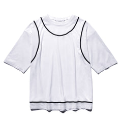 Sasquatchfabrix. Seamless Layered Tee White, T-Shirts