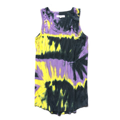 Sasquatchfabrix. Tie Dye Tanktop Purple Black, Shirts