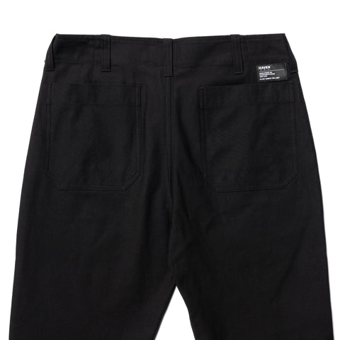 HAVEN Service Pants - Cordura® Cotton Nylon Sateen Black, Bottoms