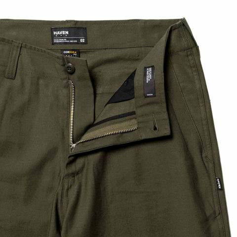 HAVEN Service Pants - Cordura® Cotton Nylon Sateen Olive, Bottoms