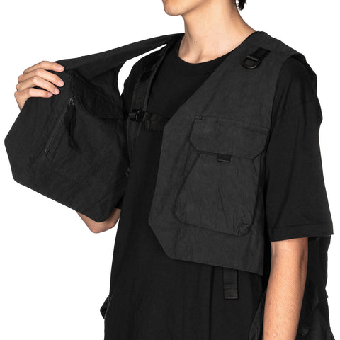 New Balance x Snow Peak Transform Vest Black, Outerwear