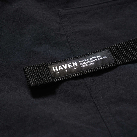 HAVEN Solo Pant- Nylon Taslan Black, Bottoms