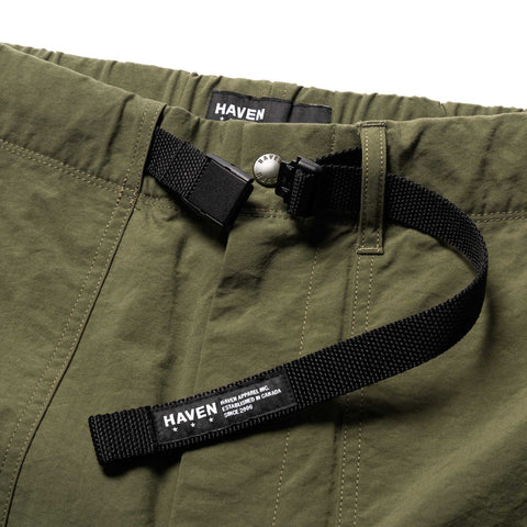 HAVEN Solo Pants- Nylon Taslan Olive, Bottoms