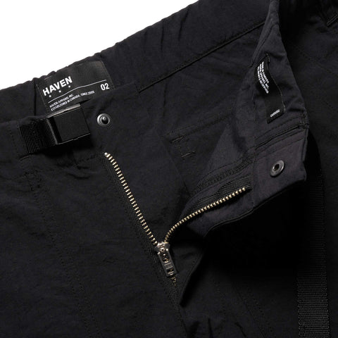 HAVEN Solo Pants - Nylon Taslan Black, Bottoms