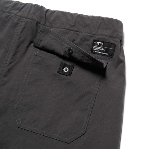 HAVEN Solo Pants - Nylon Taslan Charcoal, Bottoms