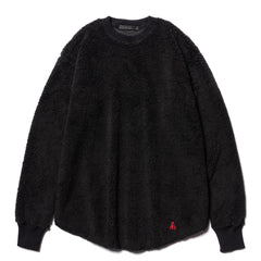 Sophnet. BOA Fleece Big Crew Neck Black, Sweaters