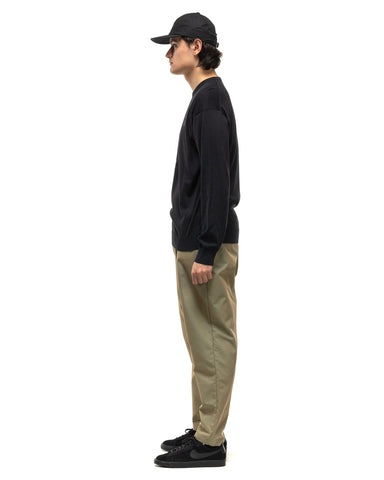 Sophnet. Baggy Wide Tapered Easy Pants Khaki, Bottoms