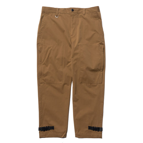 SOPHNET. Hem Buckle Flight Pants Light Brown, Bottoms