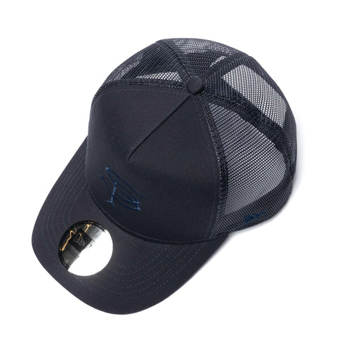 SOPHNET. New Era 5P Mesh Cap Navy, Headwear