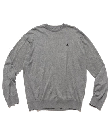 Sophnet. Scorpion Crewneck Knit Charcoal Gray, Knits