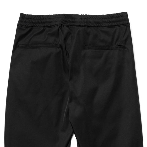 SOPHNET. Slim Fit Draping Hem Zip Pants Black, Bottoms