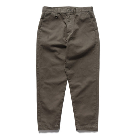 SOPHNET. Wide Cropped Pants Charcoal Gray, Bottoms