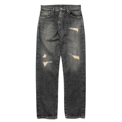 HAVEN Stampede 5-Pocket Denim - Damaged Black, Denim