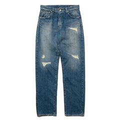 HAVEN Stampede 5-Pocket Denim - Damaged Indigo, Denim