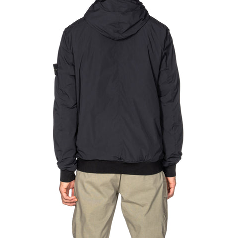 Stone Island Comfort Tech Composite Garment Dyed Zip Hooded Jacket Black, Jackets