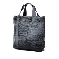 Stone Island Compacted Nylon Bag Garment Dyed Dust Color Finish Tote Bag Black, Accessories