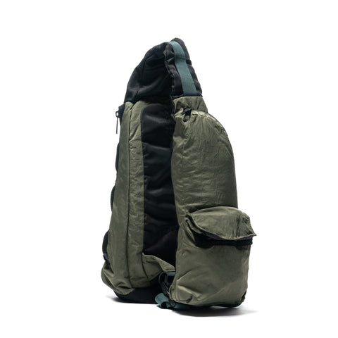 Stone Island Compacted Nylon Bags Garment Dyed Shoulder Bag Sage, Bags