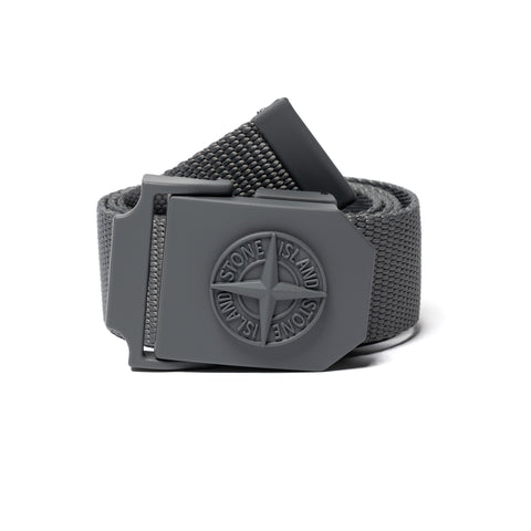 Stone Island Compass Tape Belt Peltro, Accessories