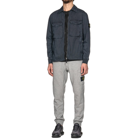 Stone Island Cotton Fleece Garment Dyed Fleece Pant Polvere, Bottoms