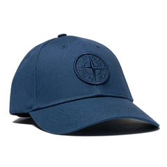 Cotton Rep Logo Cap Blue Marine