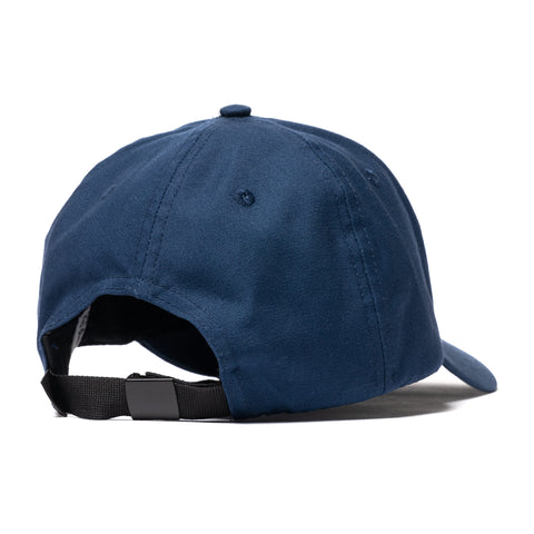 Stone Island Cotton Rep Logo Cap Blue Marine, Headwear