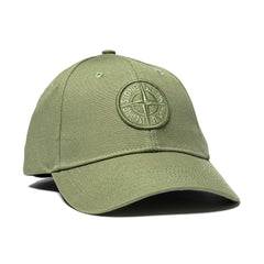 Cotton Rep Logo Cap Olive