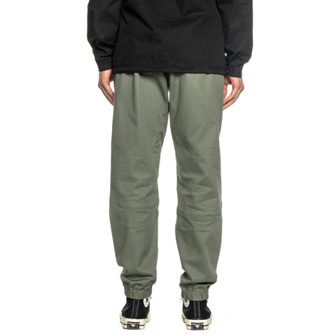 Stone Island Cotton Stretch Gabardine Drawstring Easy Pant Olive, Bottoms