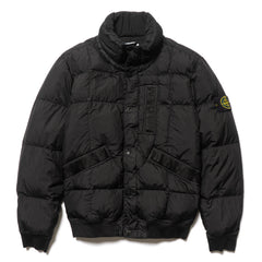 Stone Island Garment Dyed Crinkle Reps NY Down Jacket Black, Jackets