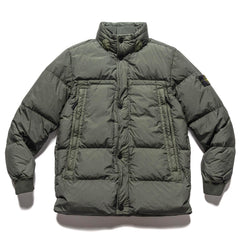 Stone Island Garment Dyed Crinkle Wreps NY Down Jacket Muschio, Outerwear