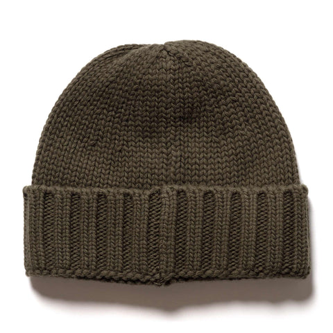 Stone Island Geelong Wool Knit Beanie Muschio, Headwear