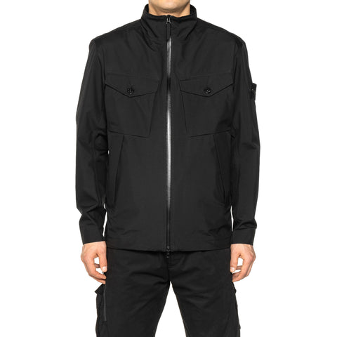 Stone Island Gore-Tex Paclite Product Technology Jacket Black, Outerwear